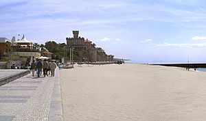 Stadtstrand von Estoril (Portugal)